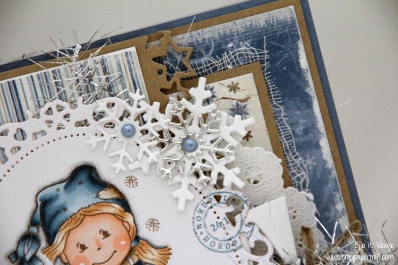 julekort Renate detalj forside