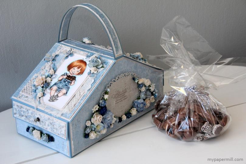 sjokoladeeske Anette samlet