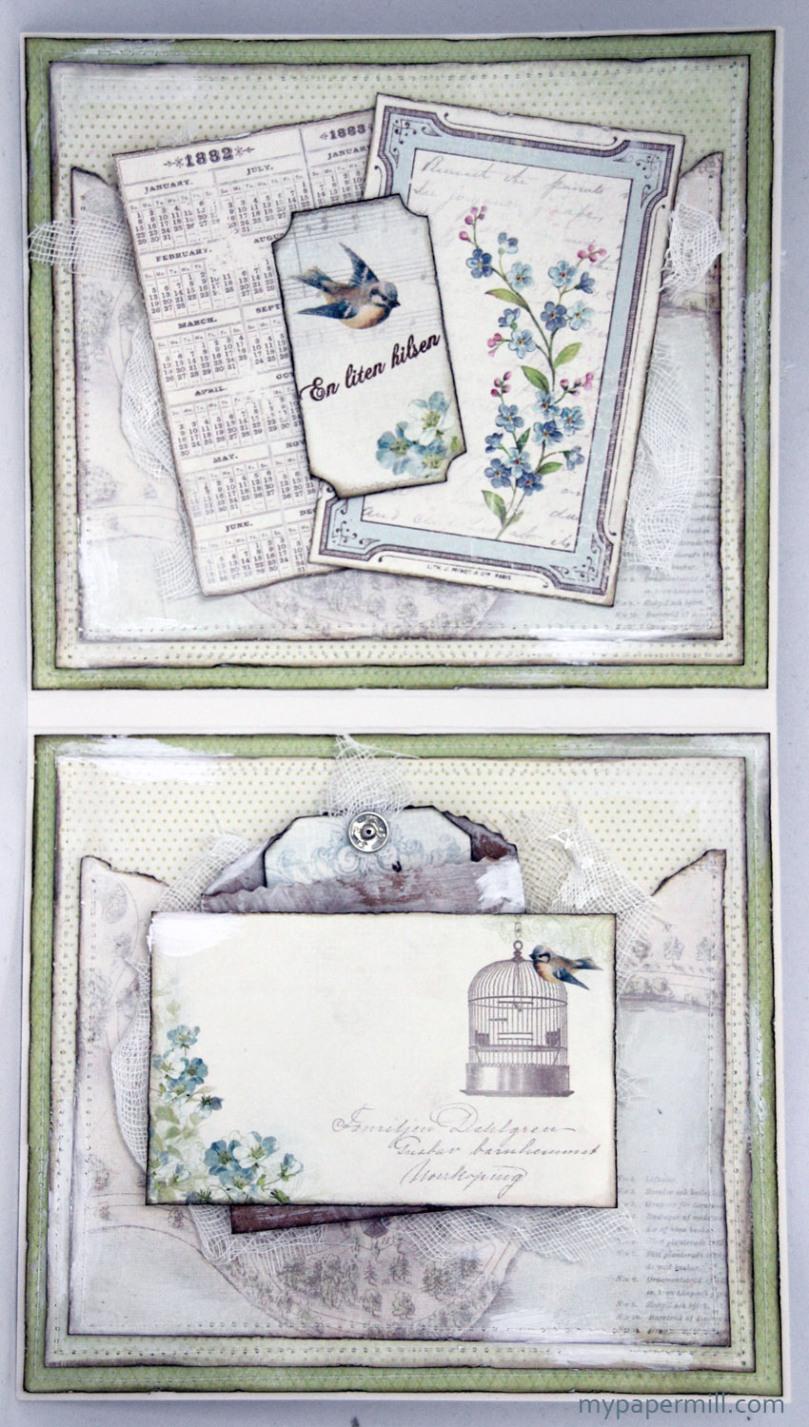 Vintage Garden-kort innsider