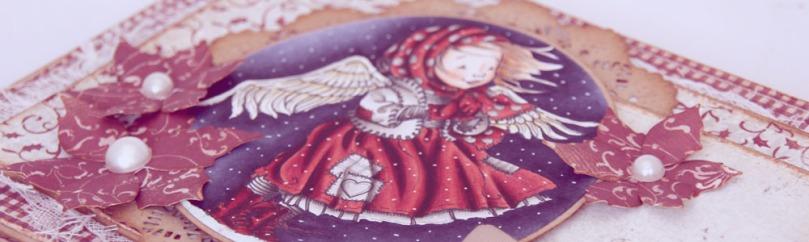Ragged Angel-kort front skrått photoshop