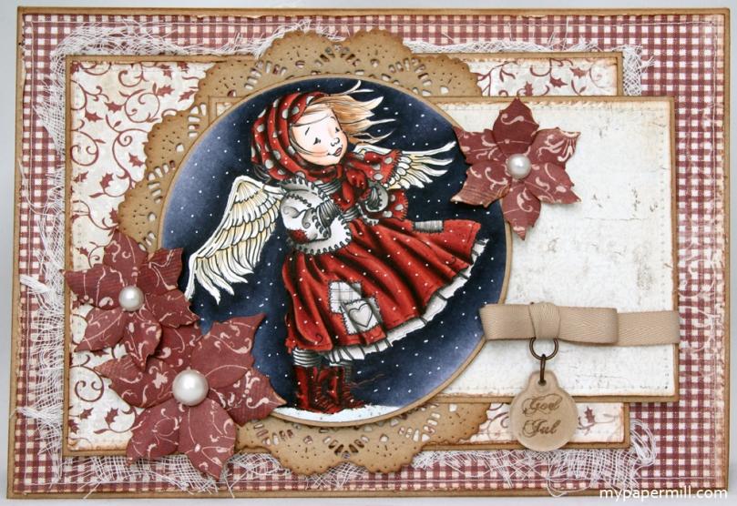 Ragged Angel-kort front