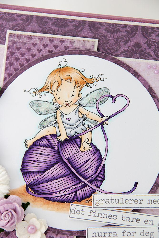 Renate motiv Mo Manning Baby Fairy Purl