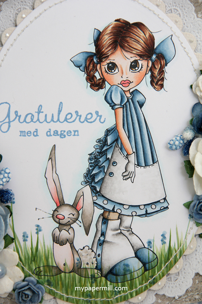 blomster motiv Saturated Canary Easter Dress