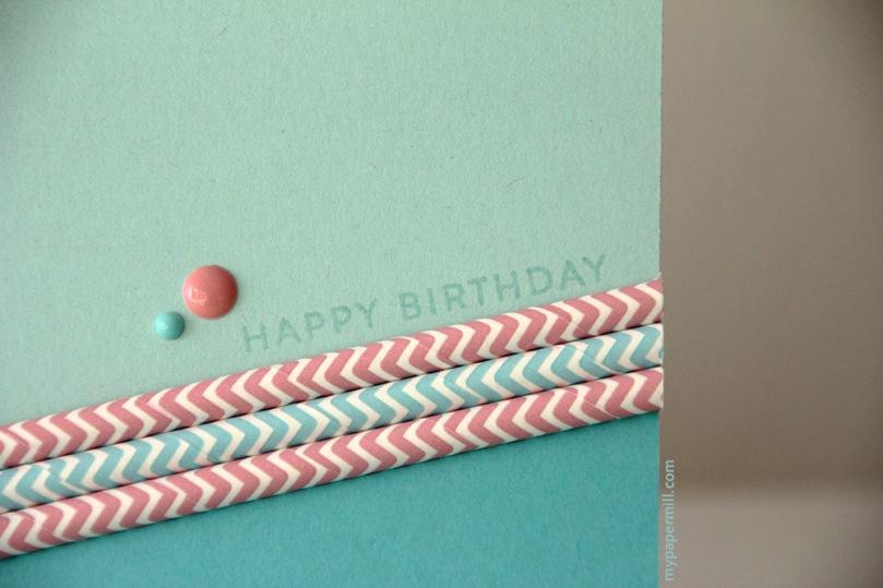 Happy birthday front detalj