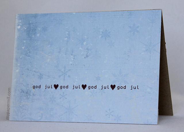 Ett Trykk 0515 Julekort etter skisse Juleklem fra hjertet bakside blogg scrapping