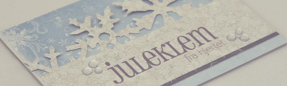 Ett Trykk 0515 Julekort etter skisse Juleklem fra hjertet front skrått PS
