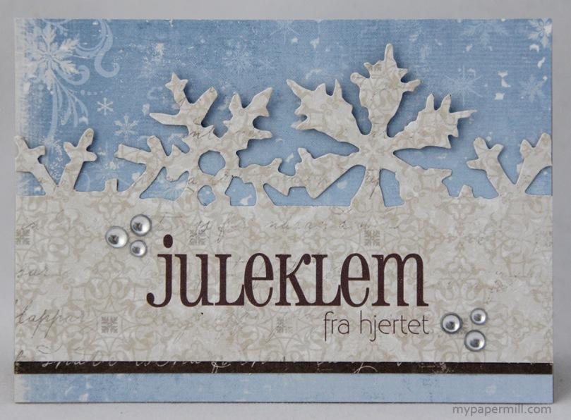 Ett Trykk 0515 Julekort etter skisse Juleklem fra hjertet front