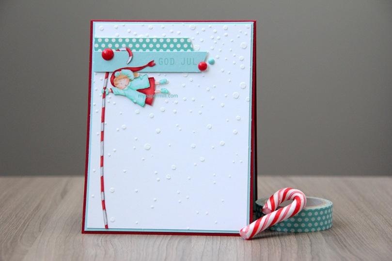 Ett Trykk 0515 Julekort etter skisse Mo Manning Seasons Greetings blogg