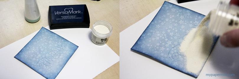 Ett Trykk 0515 Tim Holtz julekort whitewash tut 3