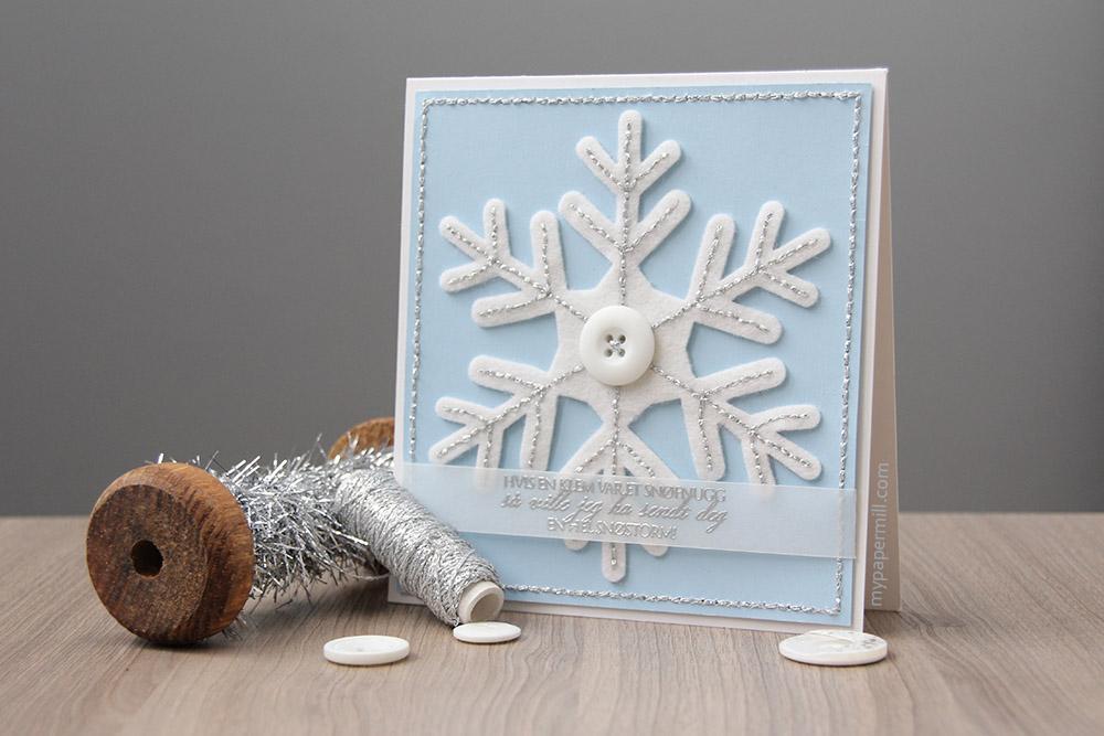 julekort med søm