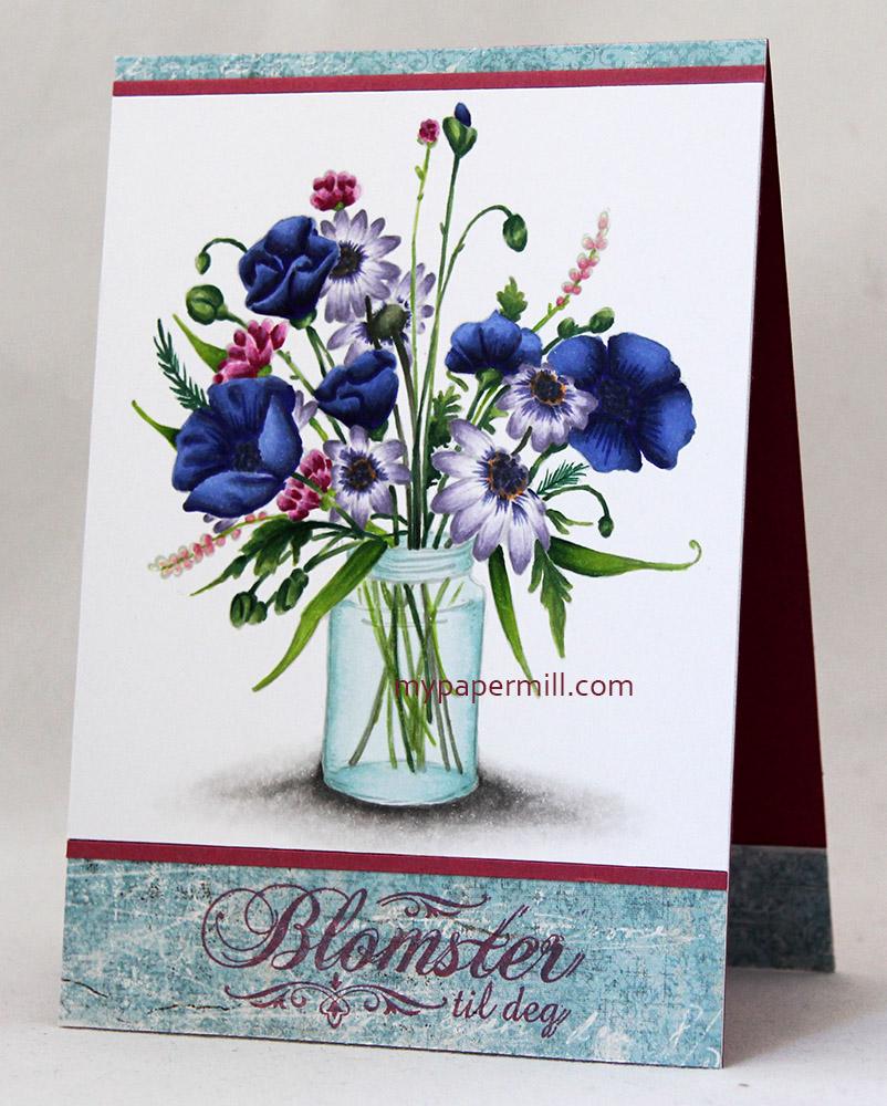 Juni 2015 - Flower Jar front skrått