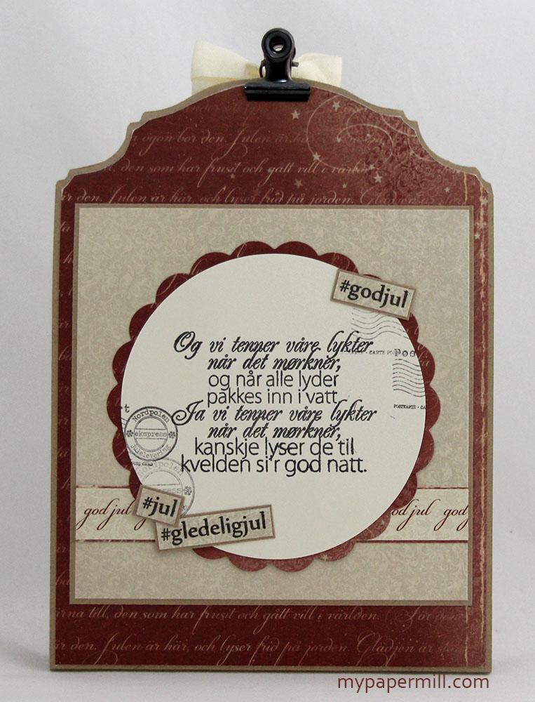 Card holder box bakside
