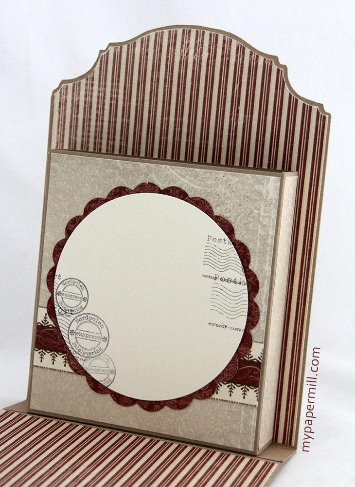 Card holder box innside