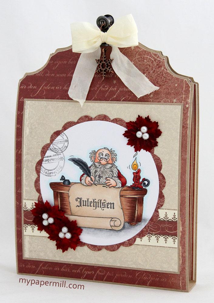 Card holder box skrått front