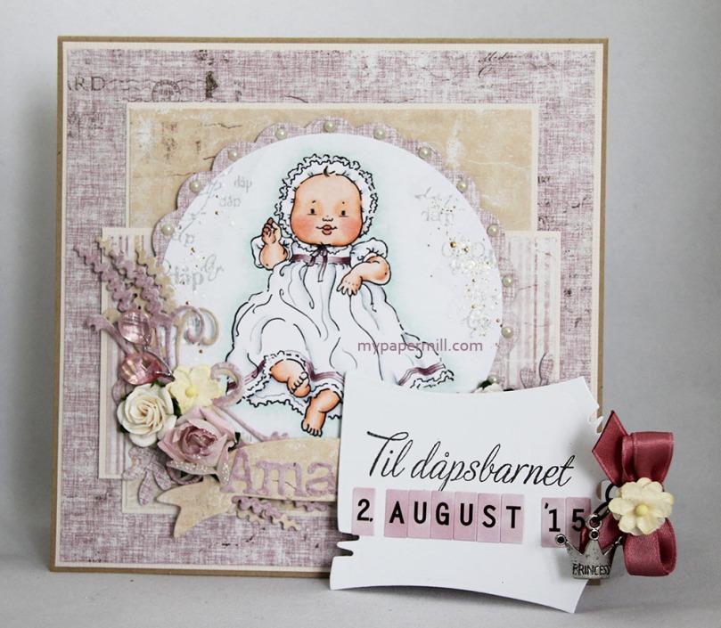 Juli 2015 - Christening tag