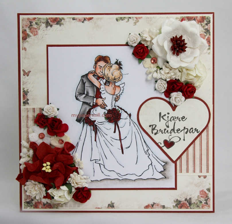 August 2015 - Bride and groom forside
