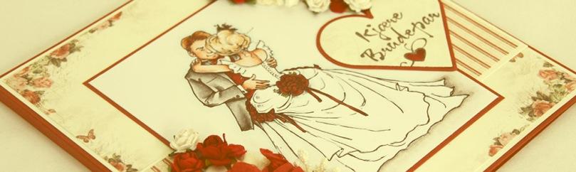 August 2015 - Bride and groom front skrått PS