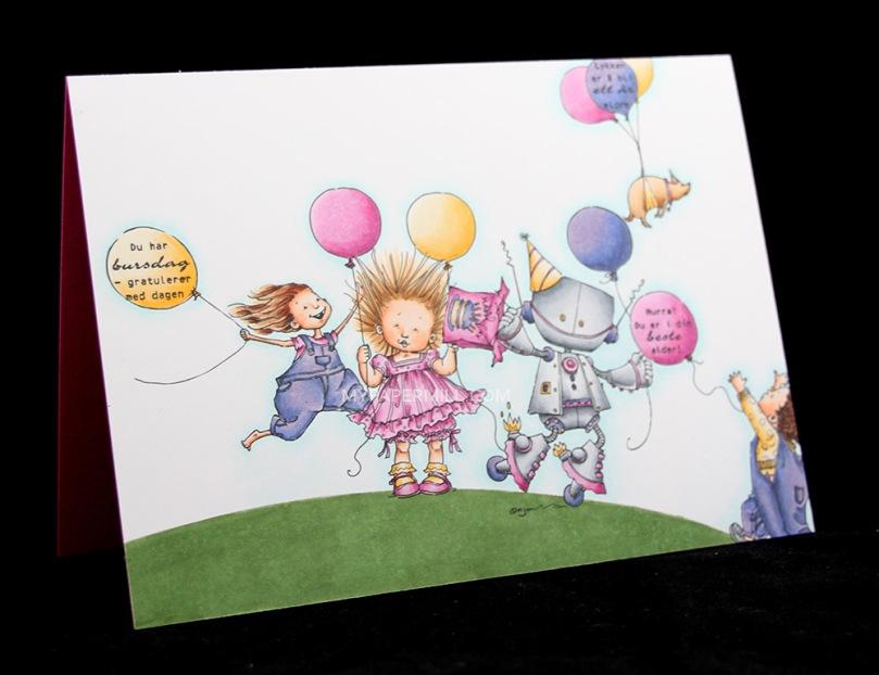 September 2015 - Mo Manning Angelina's Balloons Cody's Balloon Bronte Balloons Bella Balloon Bip Bip Birthday front skrått