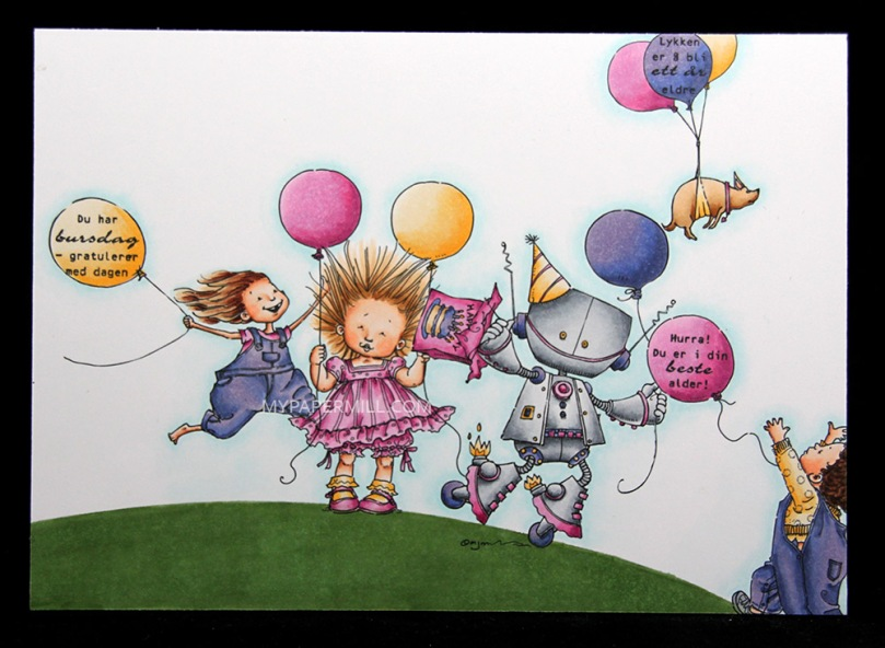 September 2015 - Mo Manning Angelina's Balloons Cody's Balloon Bronte Balloons Bella Balloon Bip Bip Birthday front