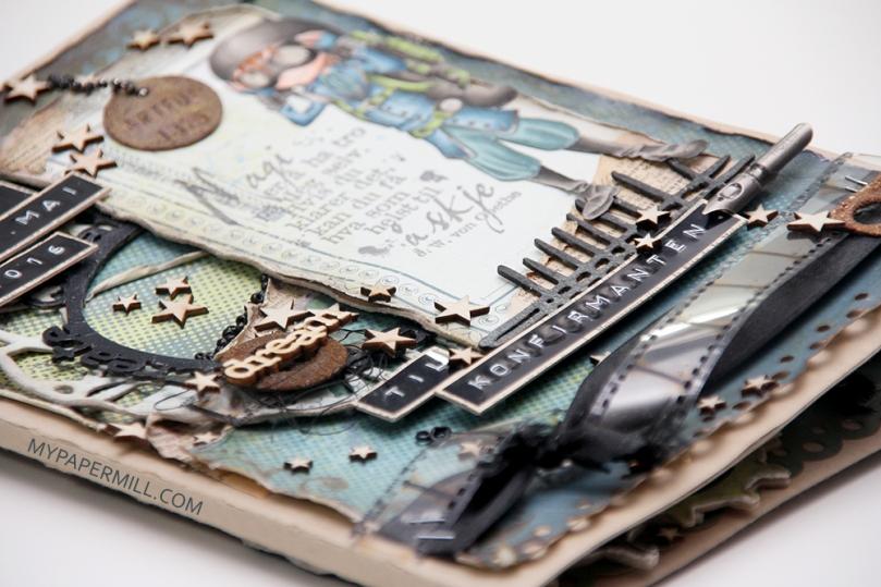 Ett trykk 0216 kortskissen konfirmasjon Tobias front skrått