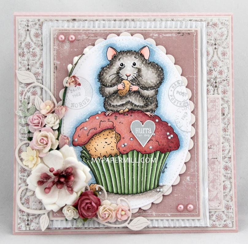 Mo Manning Cupcake Hamster front