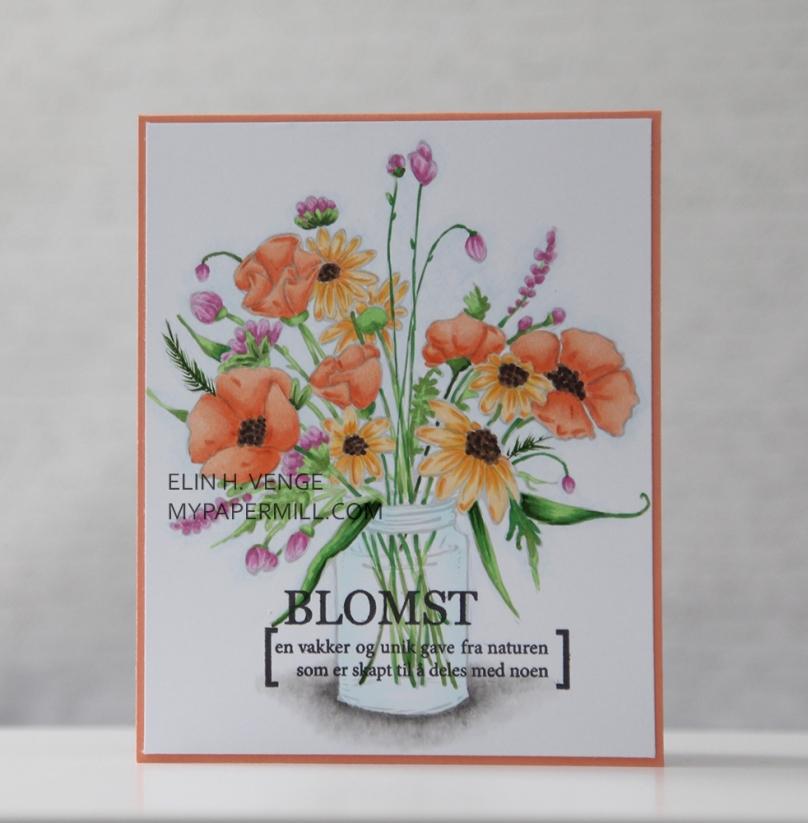 Mo Manning Flower Jar front
