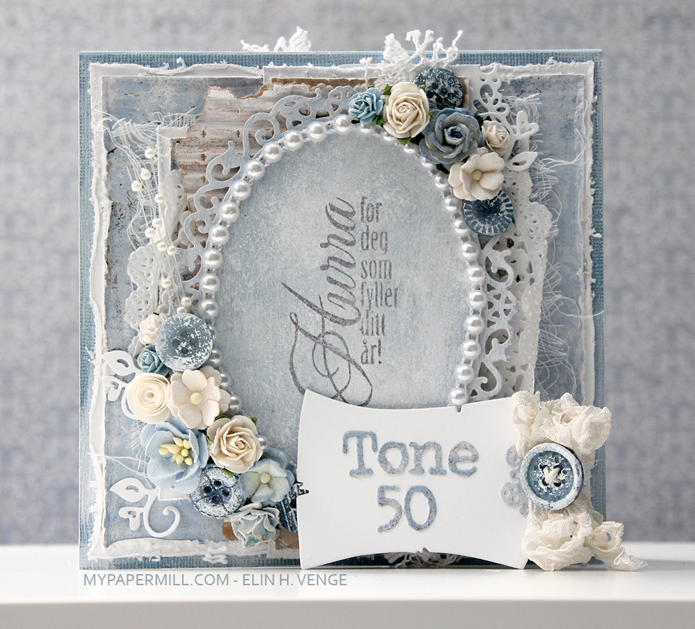 ET0516 shabby chic bestilling Tone 50 front tag