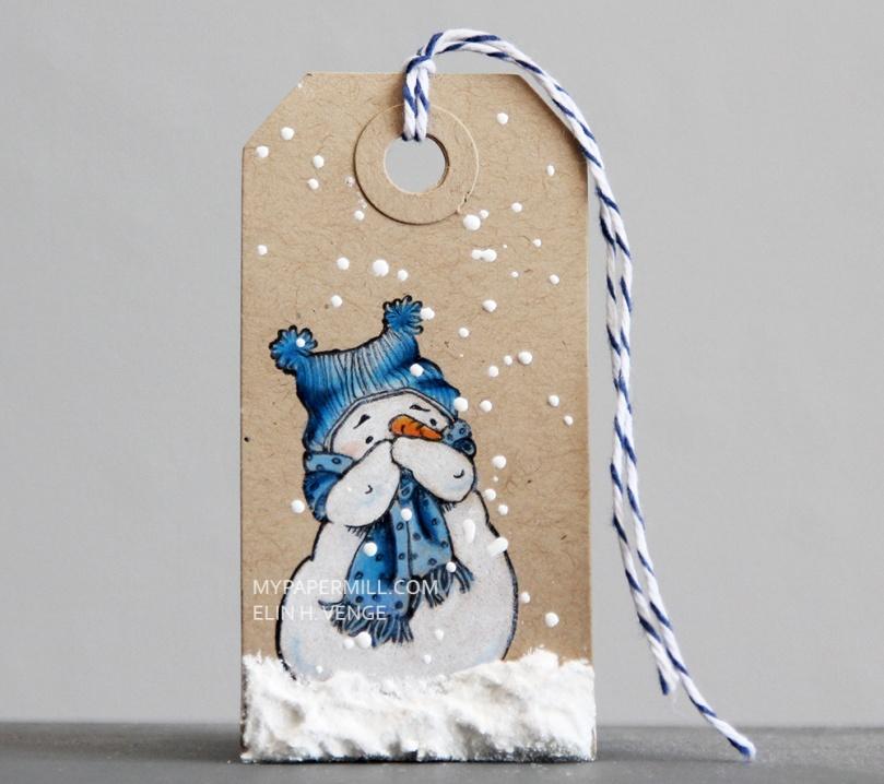 mo-manning-giggling-snowman-pakkelapp