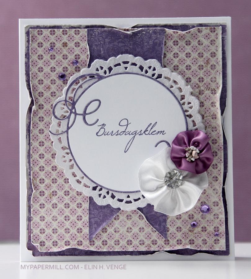 0317 Ett trykk blomster Maja Design