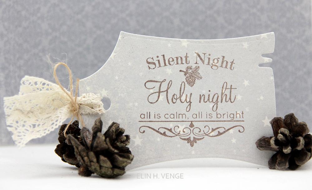 pakkelapp silent night