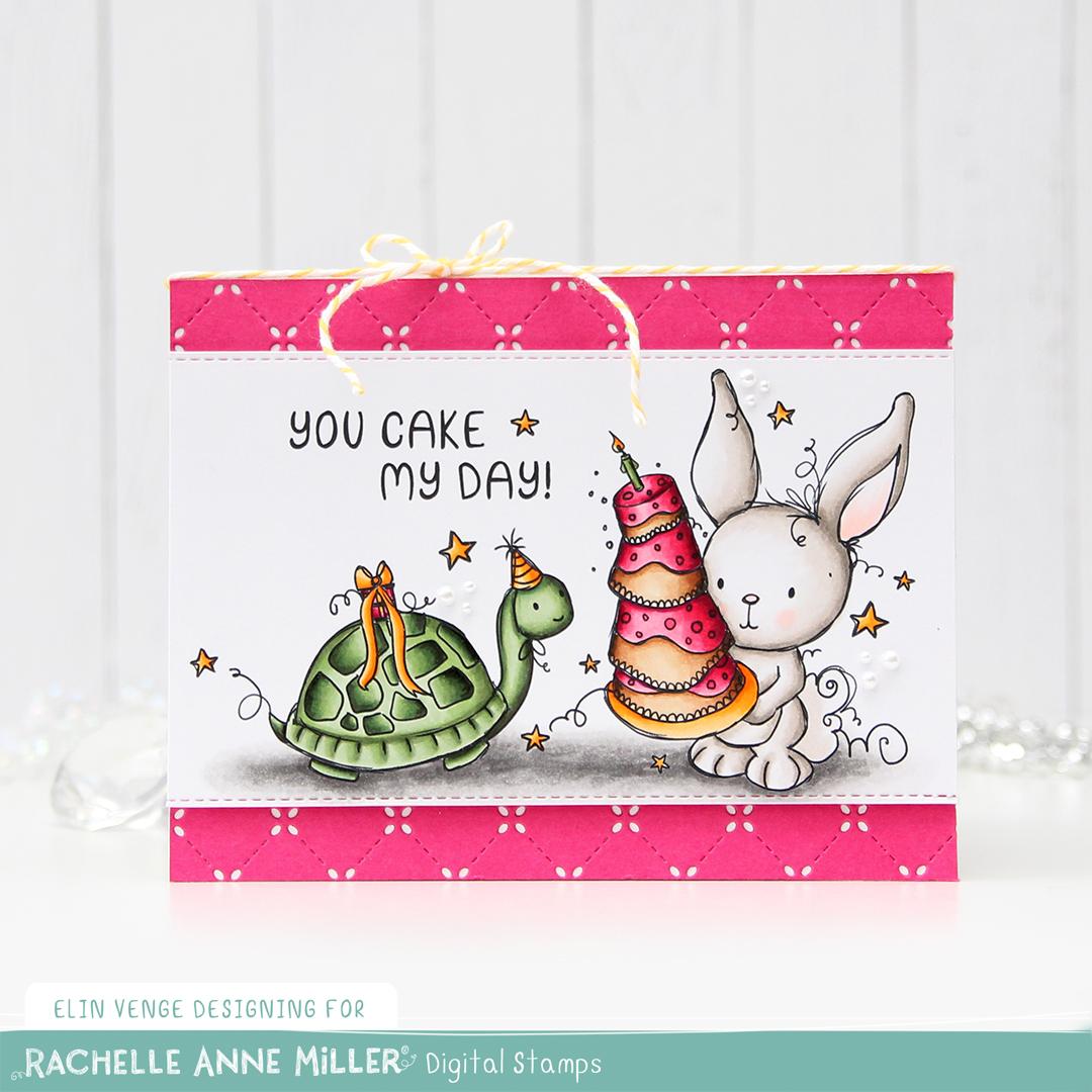 Rachelle Anne Miller Birthday Cake front rett
