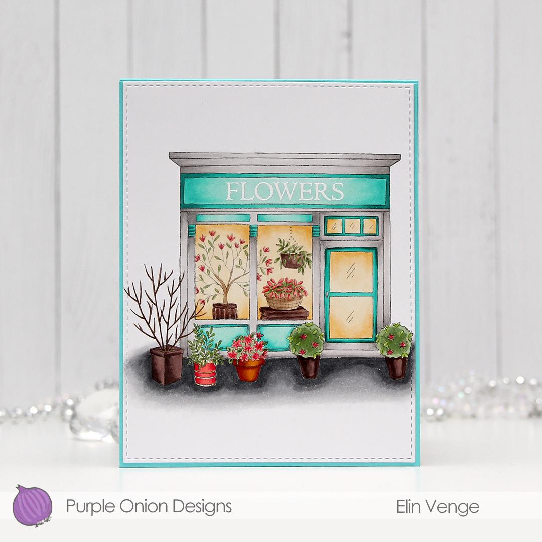 Purple Onion Designs - Elin Venge - Junie Flower Shop tri-fold inside