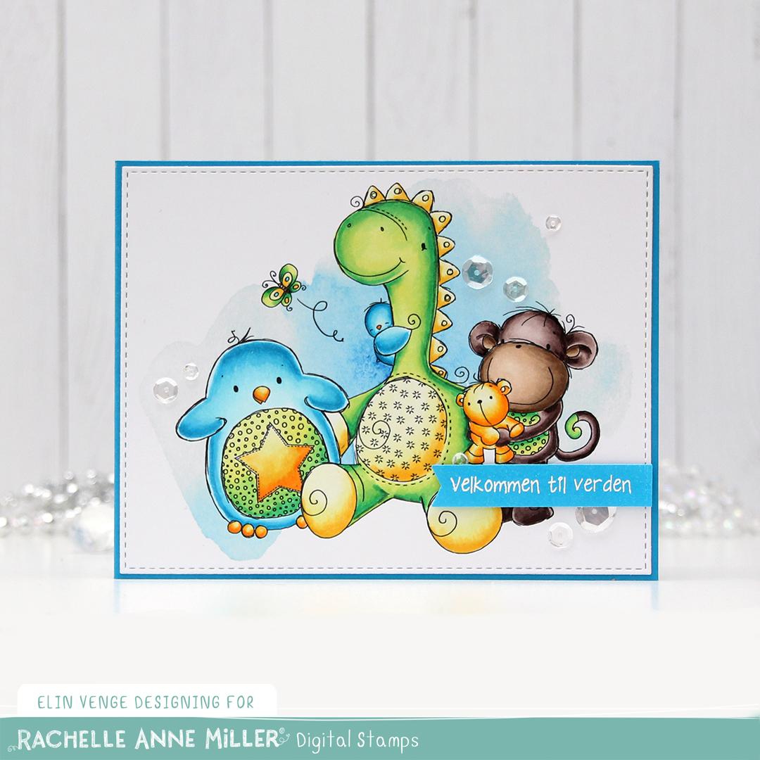 Rachelle Anne Miller Dinosaur Friends Velkommen til verden front