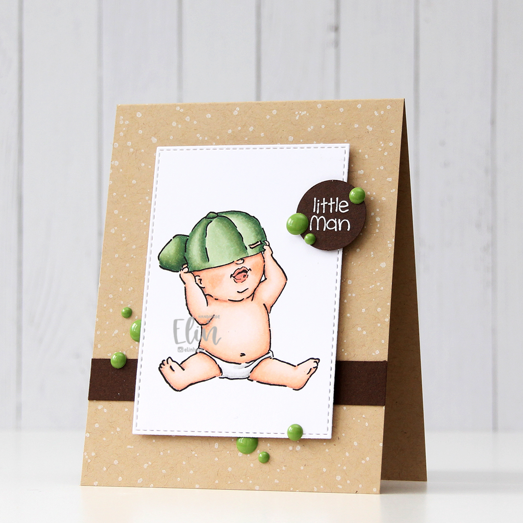 HK Art Impressions Little Man front skrått