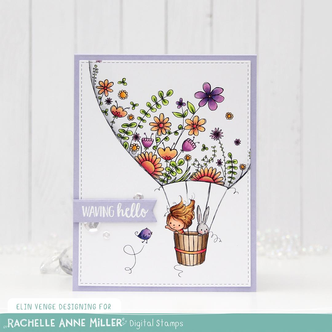 Rachelle Anne Miller hot air balloon front rett