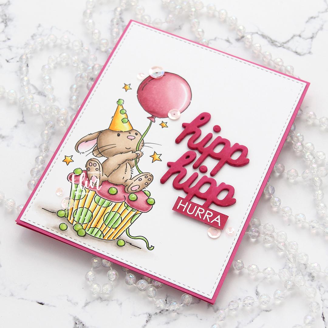 Lili of the Valley Cupcake Bunny flatlay høyre