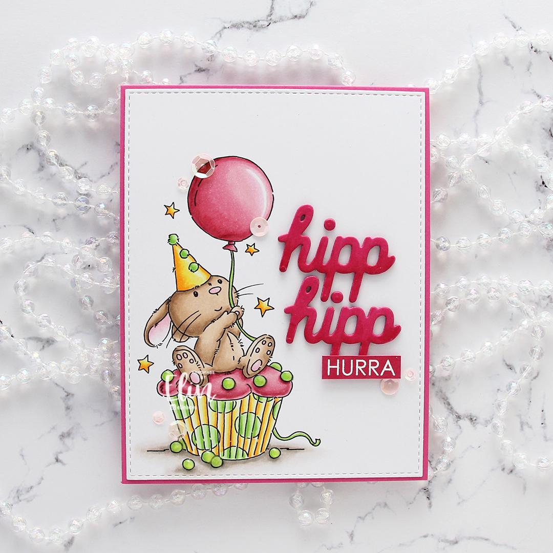 Lili of the Valley Cupcake Bunny flatlay rett