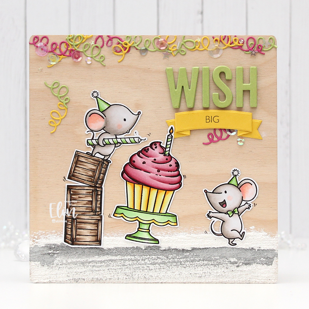 My Favorite Things Mice Day to Celebrate front rett