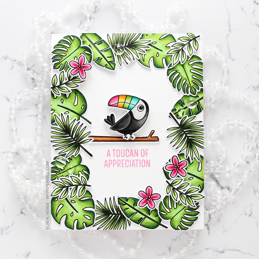 My Favorite Things Something to Squawk About Toucan of Appreciation flatlay rett