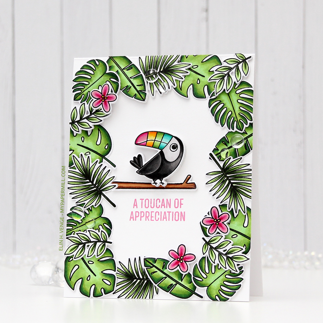 My Favorite Things Something to Squawk About Toucan of Appreciation front skrått