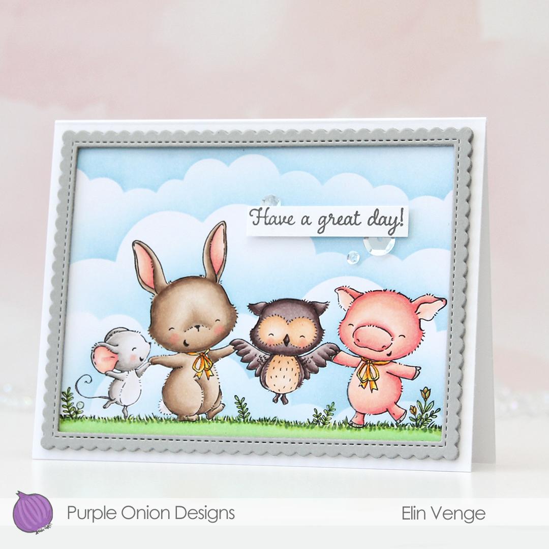 Purple Onion Designs - Elin Venge - Together front angled