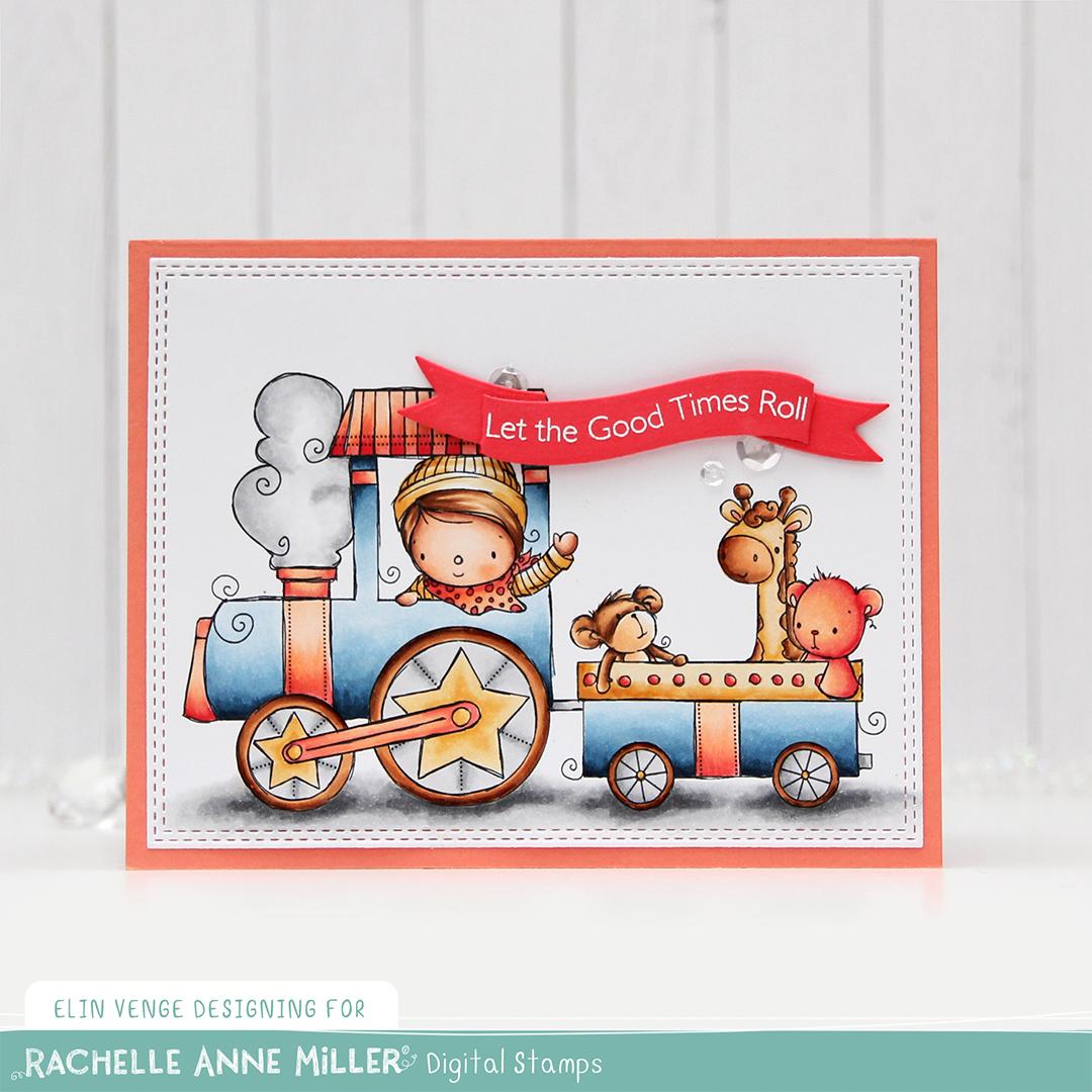 Rachelle Anne Miller Animal Train front rett