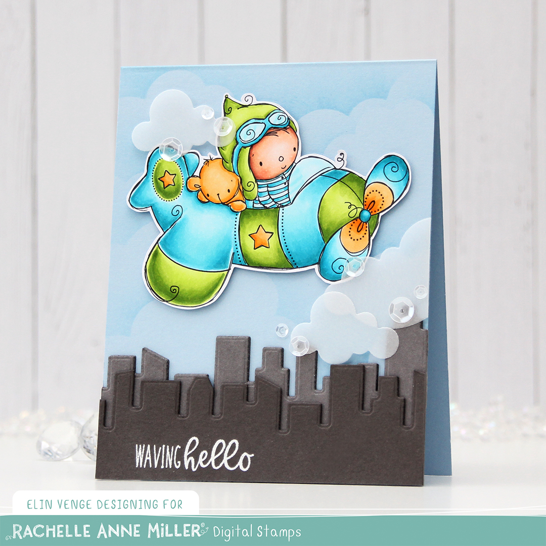 Rachelle Anne Miller Little Pilot front skrått